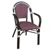 <strong>String Light Company</strong> Cafe Bistro Arm Chair (Set of 2)
