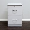 <strong>Flat Iron 2-Drawer Vertical File</strong> by Gothic Furniture