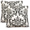 <strong>Eastern Rugs</strong> Damask Decorative Cotton Pillow (Set of 2)