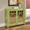 HeatherBrooke Furniture Pistachio Mirrored Console Hall Chest