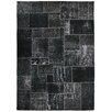 <strong>Kosas Home</strong> Annata Black Patchwork Rug