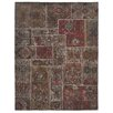 <strong>Kosas Home</strong> Lavaggio Coffee Patchwork Rug