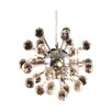 Harrison Lane Modern 6 Light Crystal Chandelier