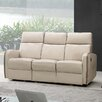 <strong>CREATIVE FURNITURE</strong> Argentina Power Leather Reclining Sofa