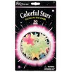 <strong>University Games</strong> Great Explorations Glow in Dark Colorful Stars (Set of 50)