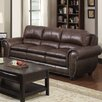 <strong>Oasis Home and Decor</strong> Arlington Leather Sofa