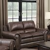 <strong>Oasis Home and Decor</strong> Arlington Leather Loveseat