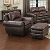 <strong>Arlington Arm Chair and Ottoman</strong> by Oasis Home and Decor