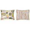 Sarah Watts Victorian Frames Reversible Printed and Embroidered Pillow