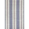 Bunny Williams for Dash and Albert Clarence Blue / Ivory Indoor / Outdoor Area Rug