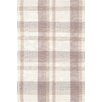 Bunny Williams for Dash and Albert Charlie Grey Plaid Indoor/Outdoor Rug