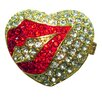 <strong>Cristiani Collezione</strong> Lips on Heart Keepsake Box