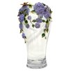 <strong>Cristiani Collezione</strong> Limited Edition Floral Sculpture on Crystal Vase