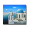 <strong>Greek Islands Oil Painting</strong> by Direct Art Australia