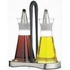 KitchenCraft Italian 0.25 Litre Oil and Vinegar Bottle Set