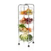 <strong>25cm x 25cm x 86cm Four Tier Trolley</strong> by KitchenCraft