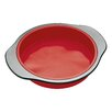 KitchenCraft Master Class Smart Silicone 23cm Rigid Support Round Cake Pan with Sleeved