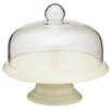 <strong>Classic Ceramic Cake Stand with Glass Dome</strong> by KitchenCraft