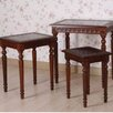 <strong>International Caravan</strong> Windsor Nesting Tables (Set of 3)