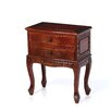 <strong>2 Drawer Nightstand</strong> by International Caravan