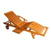 <strong>International Caravan</strong> Royal Tahiti Balau Multi-Position Outdoor Chaise Lounge