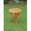 "<strong>International Caravan</strong> Royal Tahiti 19"" Folding Patio Side Table"