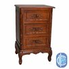 International Caravan Windsor Hand Carved End Table