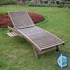 International Caravan Acacia Chaise Lounge