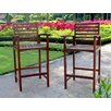 International Caravan Acacia Palmdale Patio Barstool (Set of 2)