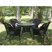 <strong>Monaco 5 Piece Patio Dining Set</strong> by International Caravan