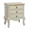 International Caravan Windsor 3 Drawer Nightstand