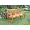 International Caravan Corwin Wood Garden Bench