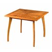 <strong>International Caravan</strong> Royal Tahiti Wood Patio Bistro Table