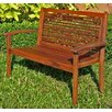 <strong>Highland Acacia Contemporary Garden Bench</strong> by International Caravan