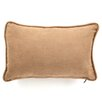 Blazing Needles Micro Suede Rectangular Back Support Pillow (Set of 2) (Set of 2)