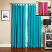 Blazing Needles Twill Insulated Blackout Two-Tone Reversible Curtain Panels (Set of 2)