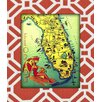 <strong>Obvious Place</strong> Florida Graphic Art on Canvas