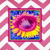 Obvious Place Sunflower Graphic Art on Canvas in Multi