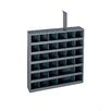 """Durham Manufacturing Prime Cold 23.75"""" H x 23.75"""" W x 4.75"""" D Rolled Opening Adjustable Parts Bin Unit"""