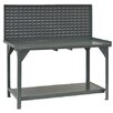 <strong>Heavy Duty Steel and Iron Top Workbench</strong> by Durham Manufacturing