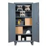 Durham Manufacturing Recessed Door Style Lockable Storage Cabinet
