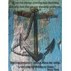 <strong>Graffitee Studios</strong> Coastal Anchored Painting Print on Canvas