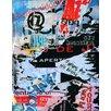 Graffitee Studios Urban Follow the Music Graphic Art on Wrapped Canvas