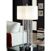 "Kingstown Home Cortona Glam Crystal 30.5"" H Table Lamp with Drum Shade"