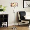 Kingstown Home Cortona Floral Crystal Floor Lamp