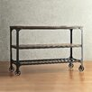 <strong>Vienna Rectangle Industrial Console Table</strong> by Kingstown Home