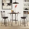Kingstown Home Shayne 3 Piece Counter Height Dining Set