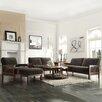 Kingstown Home Warner 4 Piece Mission Fabric Living Room Set
