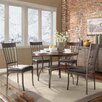 Kingstown Home Shayne 5 Piece Oak  Dining Set