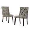 <strong>Leonora Tufted Back Parsons Chair (Set of 2)</strong> by Kingstown Home